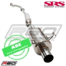 SRS Cat-Back Anlage R60 - Honda Civic 02-05 EP3 Type R